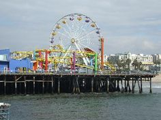 With a carousel, an arcade, an amusement park, a trapeze school, restaurants and a summer outdoor concert series, the Santa Monica Pier offers a wide range of activities.....you had me when I saw the ocean-view ferris wheel! #Motel6UBL (via @Brian Smith)
