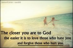 ... Forgiveness is very important in the Christian life. Forgive, you have nothing to lose.