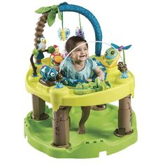Evenflo Exersaucer Triple Fun Entertainer - Life in The Amazon... shoptutti-bambini.com