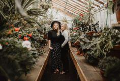 Editorial photography, fashion photographer, Oregon photographer, twin models, greenhouse photography