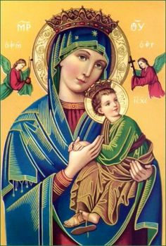 Today we commemorate Our Lady of Perpetual Help . I have had a long-time devotion to Our Blessed Mother under many titles, but began pray. Divine Mother, Blessed Mother Mary, Blessed Virgin Mary, Religious Pictures, Religious Icons, Religious Art, Mother Mary Images, Images Of Mary, Happy Birthday Mama Mary