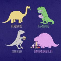 """Want to Giggle Like a Giganotosaurus? Check Out These Dinosaur Memes: """"Herbivore, Carnivore, Omnivore..."""""""