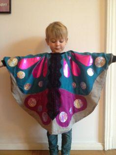 Schmetterlingscape: Kinderkostüm
