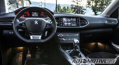 Interior 2015 Peugeot 308 GTi
