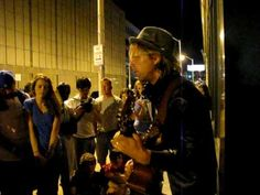 Behind Your Eyes by Jon Foreman on a street corner in baltimore