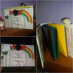 Album fotografico colorato..