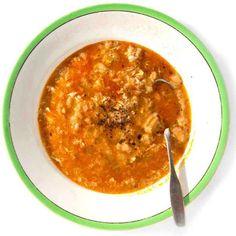 Castilian Garlic and Bread Soup (Sopa de Ajo)