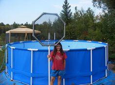 Diy Pool Skimmer Slippery Samantha S Diy Diy Pool