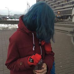 Hair Inspo, Hair Inspiration, Lila Baby, Baby Baby, Aesthetic Hair, Scene Hair, Grunge Hair, Blue Hair, Pretty Hairstyles