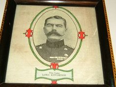 1916 Earl Kitchener Commemorative Plaque Vintage Military Kitcheners Army Your Country Needs You WWI Souvenir by BiminiCricket, $65.00 USD #zibbet