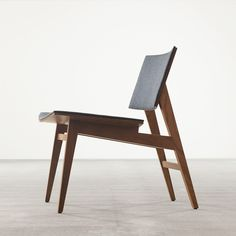 Wood III Chair in Walnut - Seating - Joined + Jointed
