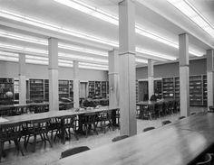 Chaplin Library interior, 1961