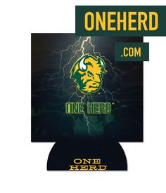 One Herd Can Koozie perfect for keeping your drink cold and your hand dry  available at oneherd.com  NDSU 875c190fa496