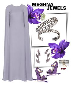 """""""MEGHNA JEWELS-Claw collection"""" by gabyidc ❤ liked on Polyvore featuring Rachel Zoe, Pier 1 Imports, Valentino, NARS Cosmetics and GEDEBE"""