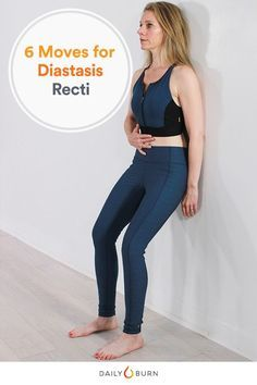 Help treat the common post-pregnancy condition, diastasis recti, with these science-backed exercises. All it takes is 10 minutes a day. #postpregnancy via @dailyburn