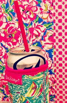Lilly Pulitzer and Diet Coke ♥