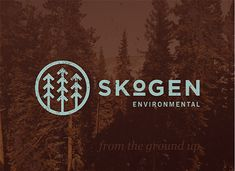 Skogen Environmental Identity Logo