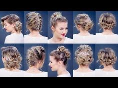 EASY HAIR TOOLS FOR SHORT HAIRSTYLES TUTORIAL | Milabu - YouTube