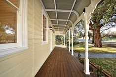 Restoring this magnificent heritage building at Baptist Redeemer School to it's former glory was helped by using Intrim's custom mouldings to achieve its original charm. Intrim supplied the following: External Cladding (weatherboards), Custom Eave linings and scotia, Turned Verandah Posts to match existing, Bull nose rafters, Verandah Brackets, Ovolo 70mm, Skirting around Door SK85 #mouldings External Cladding, Exterior Trim, Home Reno, Restoration, Cottage, Posts, The Originals, School, Building