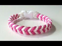 DIY Comment faire un bracelet Paracord Créacord - YouTube