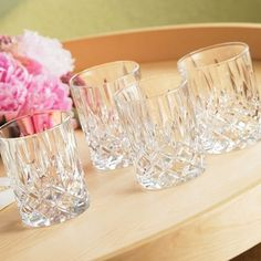 Gorham Lady Anne Crystal Signature Double Old Fashion : Target