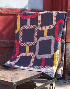 Chain Reaction Quilt Pattern Download