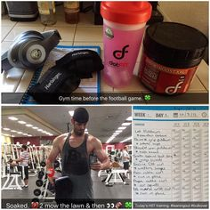 Today's program. Working to lean out after this heavy phase I've been through. Integrating a HIIT training program to see just how lean I can get. Nabbed this program from @jimstoppani and love the way it is structured. Putting in my own macro meal plan that I have had great success with. Add me on snap chat ( @jupitertank_fit ) to get daily posts of this workout plan. Check your ego at the door for this one and expect some odd looks from people in the gym. Either way after week one I'm…