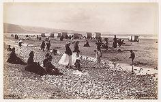 Pensarn Beach by Francis Bedford, 1860s. Metropolitan Museum of Art, 2005.100.717