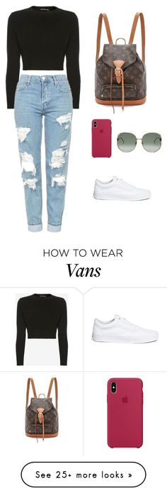 """""""#338"""" by luluuuuuuuuuu on Polyvore featuring Alexander McQueen, Vans and Gucci #teenfashionoutfits"""