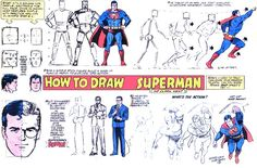 Draw Superman.