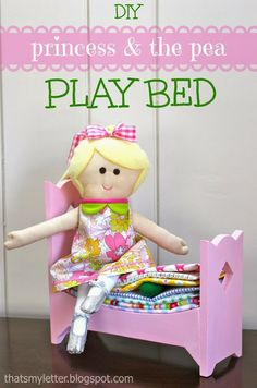 Ana White | Build a Princess and the Pea Bed | Free and Easy DIY Project and Furniture Plans