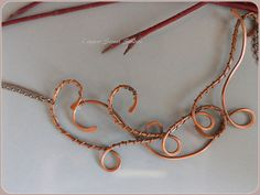 Copper Necklace Wire Wrapped Necklace by CopperStreetStudios