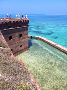 Fort Jefferson, Dry Tortugas -- a fort out in the middle of the Atlantic Ocean, Florida The one place in the Keys Ive never been...but want to go!!!!