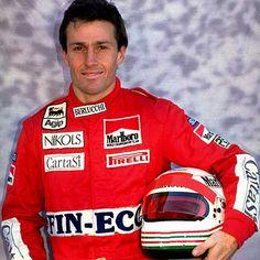 Andrea de Cesaris (1959-2014) Suzuki 600, Motorcycle Jacket, F1, Parking Lot, Control, Grand Prix, Legends, Weather Forecast, Cars