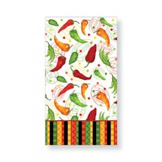 Decor For The Bathroom Individual Paper Guest Towels In Umbrella Chili Pepper From Cape S Whole