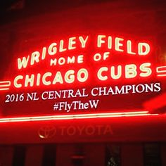 2016 NL Central Champions