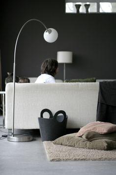 livingroom/grey walls! <3