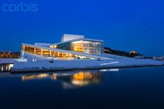 Oslo Opera House. One of the most beautiful buildings I've ever seen - or walked on.