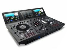A Concept Numark NS7 II With Built-In Serato Software And Windows Embedded