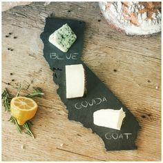 Show your state some love! Throw a themed party and use our new state shaped cheese boards.