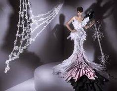 Resultado de imagen para vestidos de papel