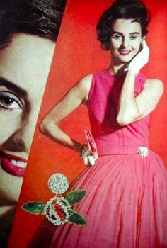 Glamour magazine, 1959.