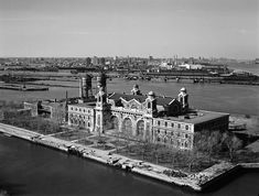 Part I. Ellis Island. The 27-acre island in New York Harbor became an immigration station in 1892. At that point in time the great tides of immigrants of the late 19th century were inundating the largest point of entry in the United States. Named for one of the early owners, Samuel Ellis, it was initially a U.S. fort and an arsenal before the transition to an immigration depot.