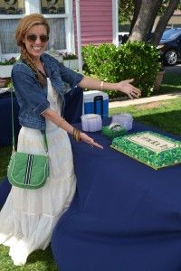 Cinda Boomershine party at the Vintage House with #cindab #cake