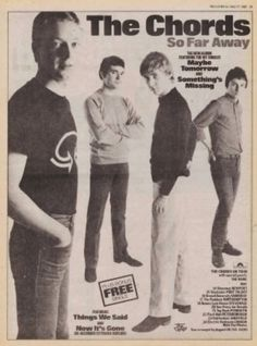The Chords: Record Mirror, 1980.