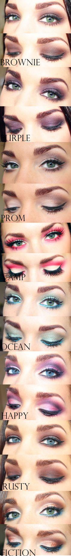 great eye make up!
