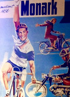 Monark cyklers.