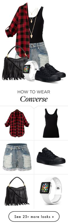 """Clara Clarke: 2015"" by grandmasfood on Polyvore featuring Theory, LE3NO, Forever 21, WithChic, Converse, women's clothing, women, female, woman and misses"