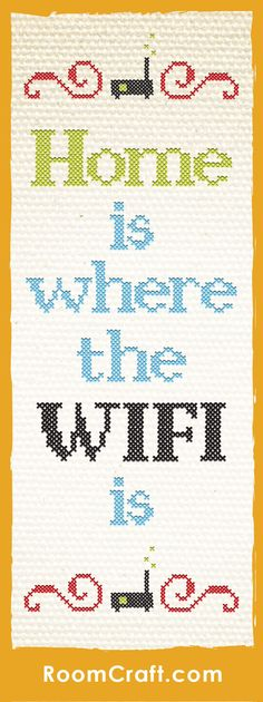 """""""Home is where the WiFi is."""" Isn't that the truth! There is nothing like the security of knowing your phone will connect automatically to your home wifi. These tech inspired throw pillows are offered in multiple fabrics, sizes, and colors making it easy to find the perfect addition to your home library or office space. Our quality pillow covers are made to order in the USA and feature 3 wooden buttons on the back for closure. Choose your favorite and create a truly unique pillow set…"""