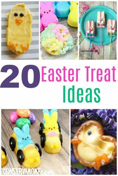 Here& a fun round up of 20 Fun Easter Treat ideas that will sweeten anyone& day! Perfect for a Spring party or Easter get together! This is a fun round up of creative Easter treat ideas! Easter Activities, Infant Activities, Elderly Activities, Fun Activities, Easter Recipes, Holiday Recipes, Holiday Treats, Dessert Recipes, Kids Fever